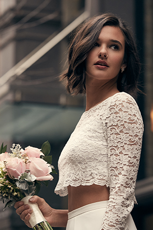 Two-Piece Wedding Dresses | David's Bridal