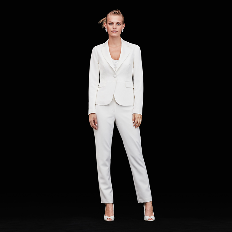 Pantsuits for a Modern Wedding