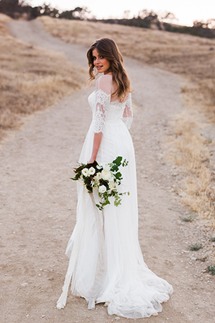 Rustic A-line Wedding Dresses