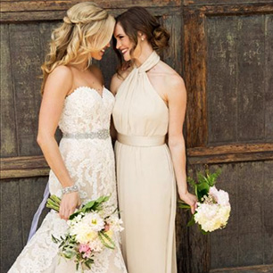 Rustic wedding themes ideas davids bridal bridesmaid dresses for a rustic wedding davids bridal junglespirit Choice Image