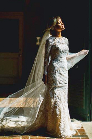 Vintage-Inspired Lace Wedding Dresses | David's Bridal