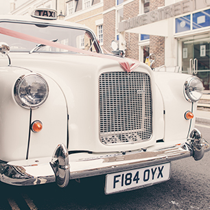 Deck out a classic car | David's Bridal