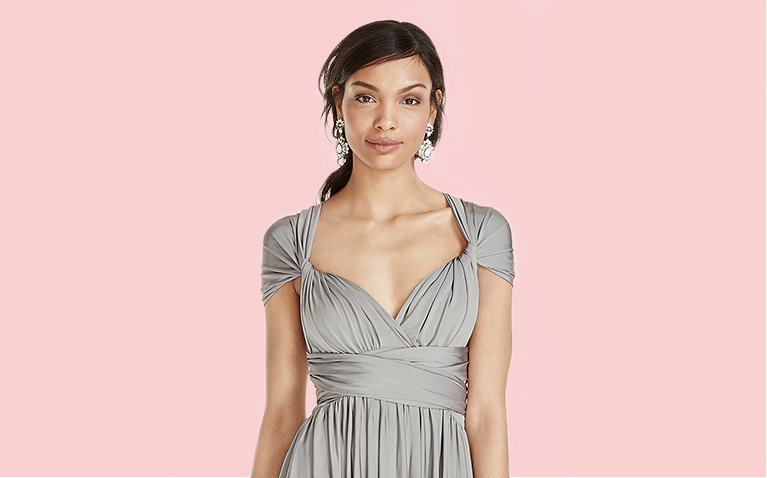 Jersey Versa Convertible Bridesmaid Dress