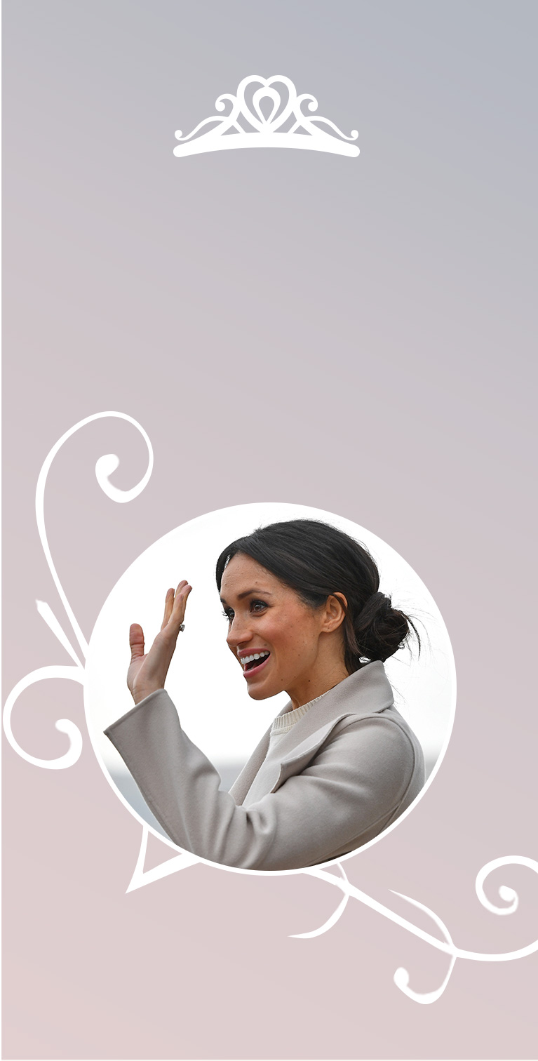 Meghan Markle wedding hairstyles