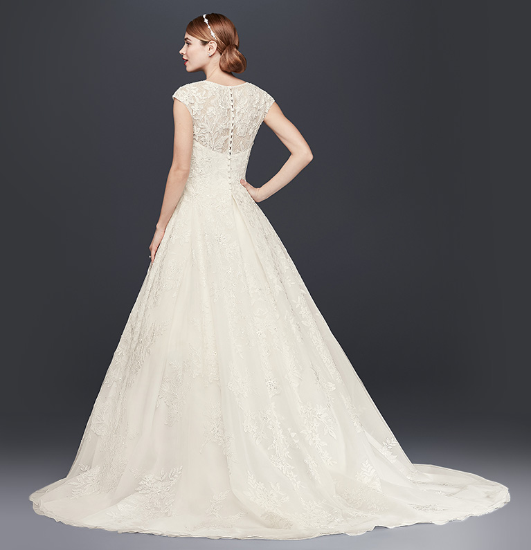 Wedding Dress Trains Guide | David\'s Bridal
