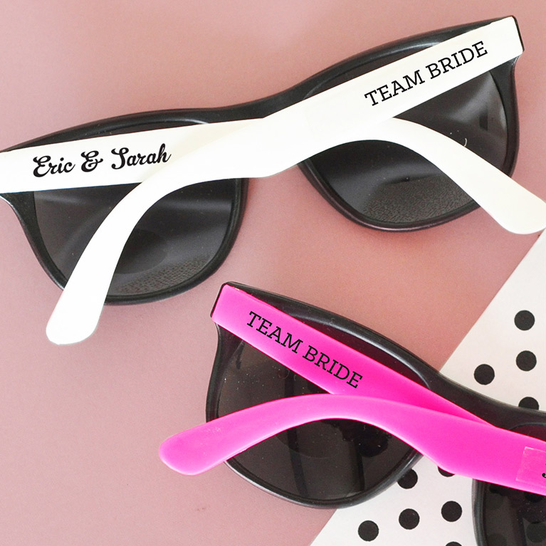Personalized Team Bride Sunglasses