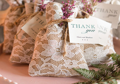Wedding Favor gift baggies