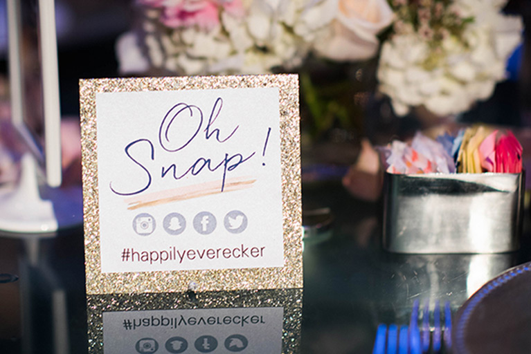 Wedding Hashtag Ideas | David's Bridal
