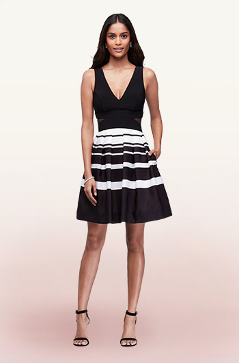 Black Cocktail Dresses for Weddings