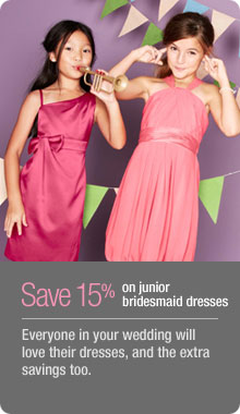 Junior Bridesmaids Dresses