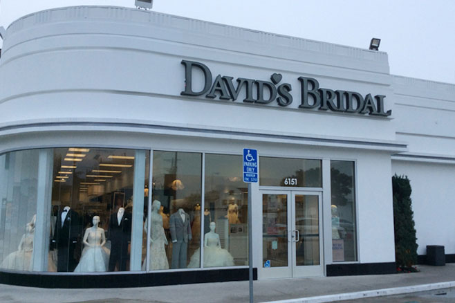 Welcome To Davids Bridal Los Angeles