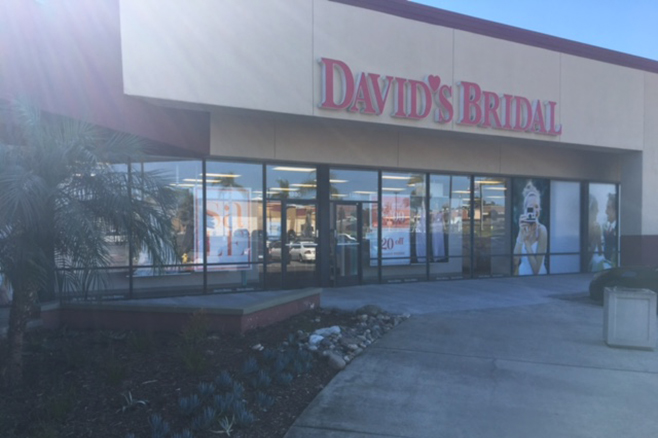 David's Bridal Vista, CA