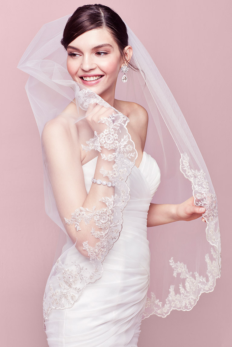 Bridal Veil Guide - Styles, Lengths, Tips & Advice | David\'s Bridal