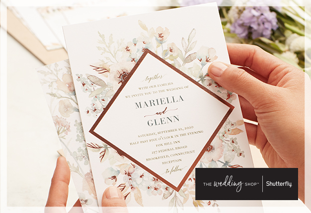 Image of shutterfly personalized invitations