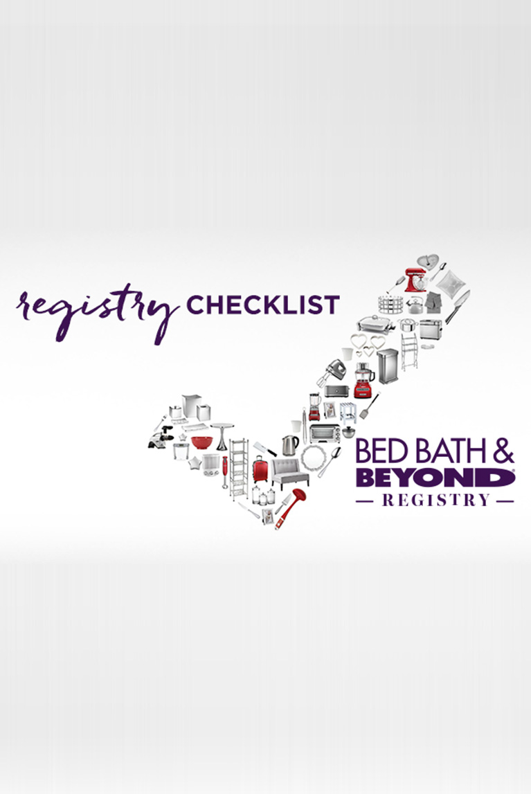 checklist composed of top gift registry items