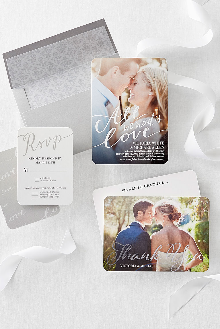 Various save the date cards