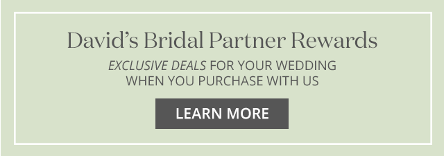 David's Bridal Partner Rewards: Exclusive deals for your wedding when you purchase with us