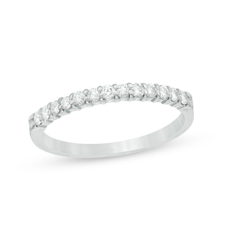 1/4 CT. T.W. Diamond Band in 14K White Gold
