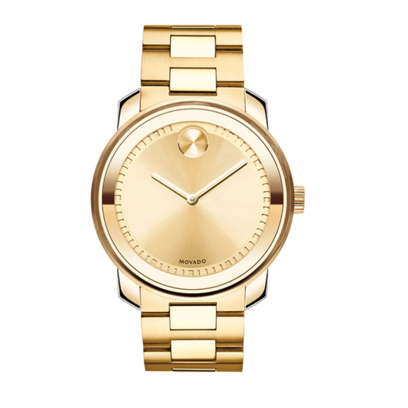 Men's Movado Bold® Watch with Gold Dial (Model: 3600258)