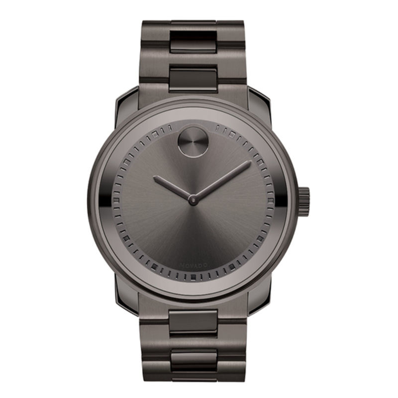 Men's Movado Bold® Watch with Gunmetal Grey Dial (Model: 3600259)
